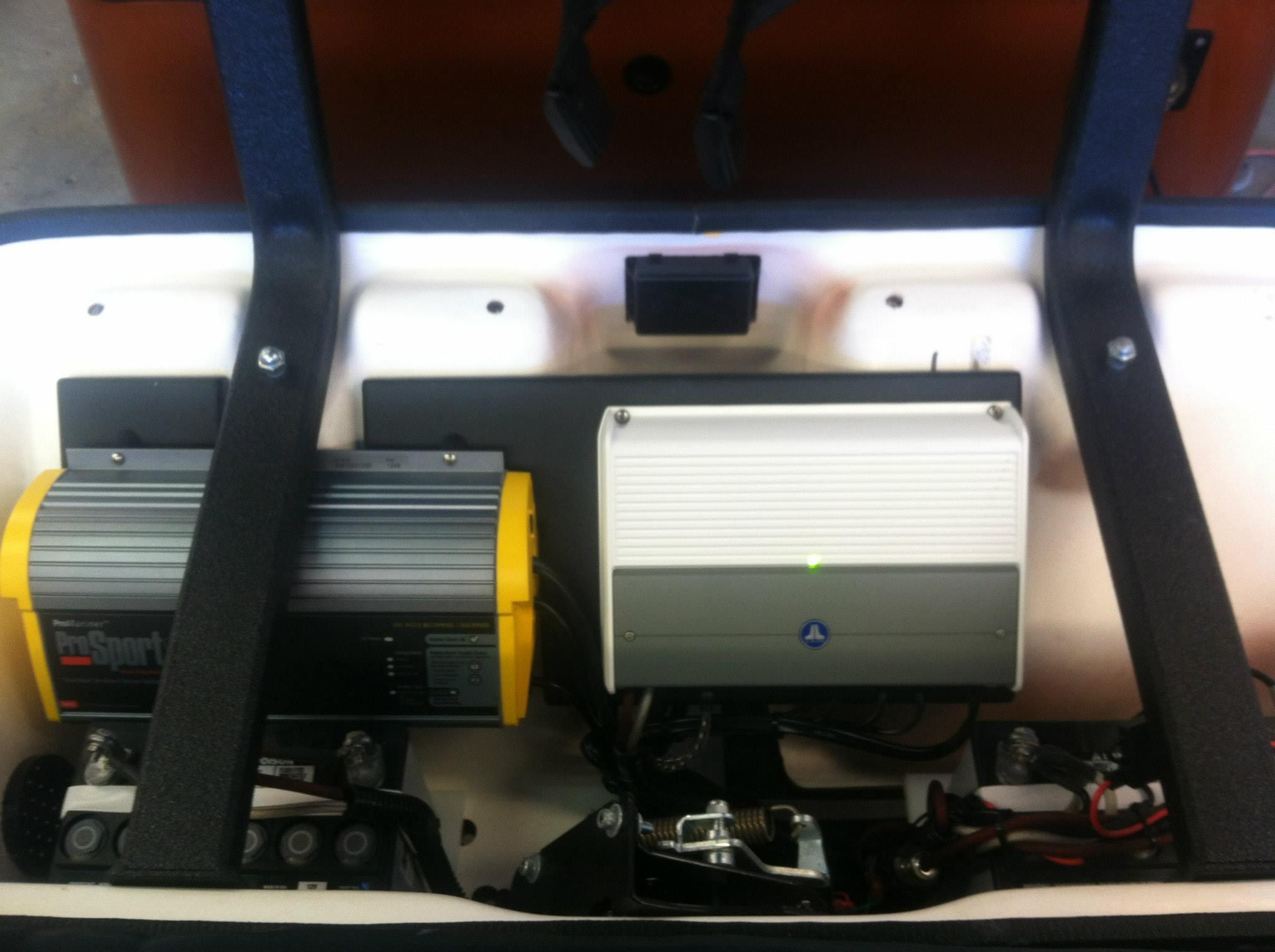 2013 EZGO S6 JL Audio marine 6.5